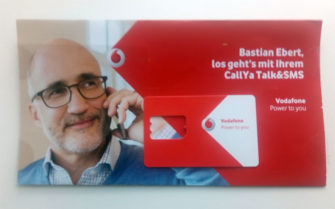 Vodafone Callya Talk&SMS Prepaidkarte