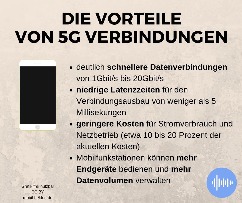5G-Vorteile